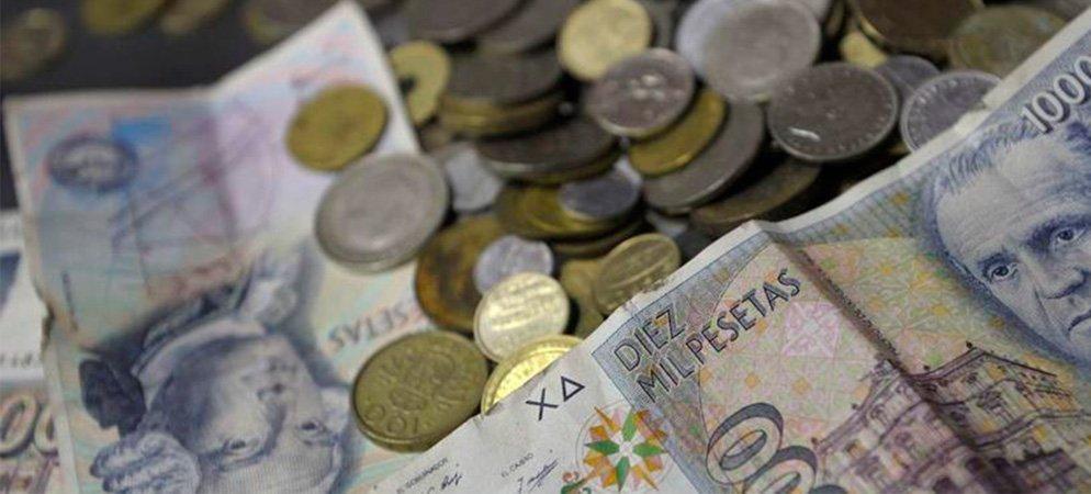 Campaña de recogida de las antiguas pesetas  en Segorbe