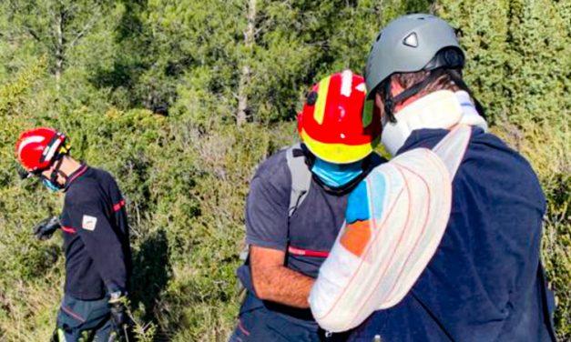 Un hombre de 53 años tiene que ser rescatado en Chóvar
