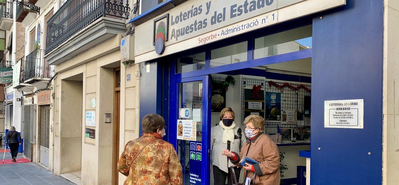 La lotería de Navidad deja casi 300.000 euros en la comarca