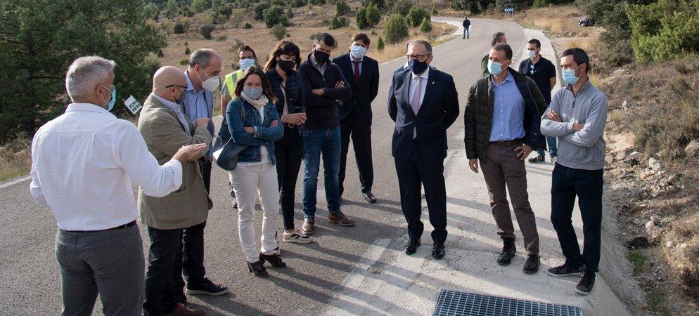 Diputación destaca la inversión en carreteras realizada este ejercicio