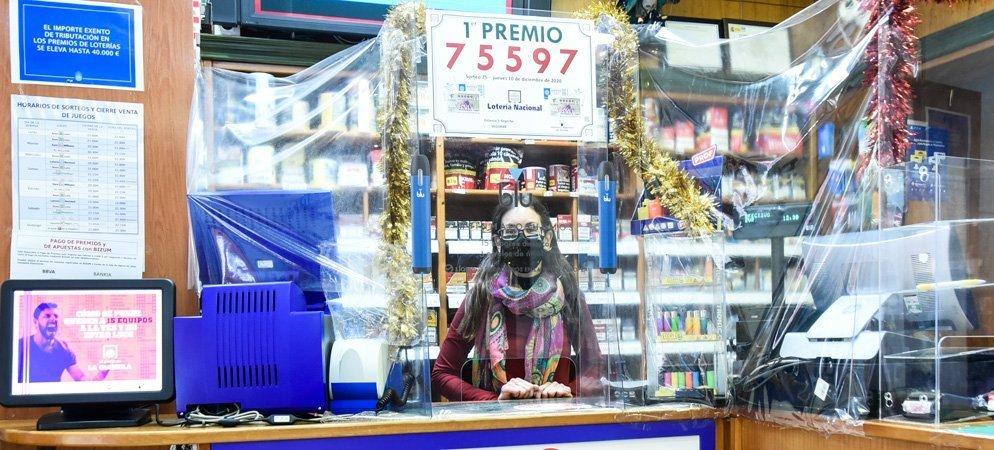 La lotería en Segorbe deja un premio de 30.000 €