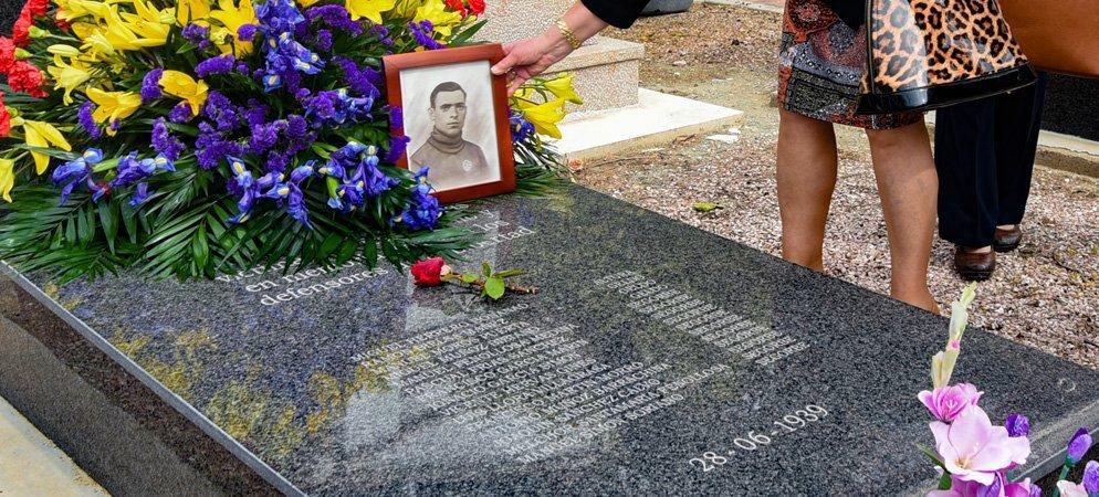 Exhumación de víctimas del franquismo en el Cementerio de Segorbe