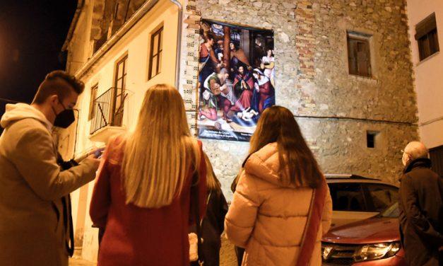 Intramuros coloca un Belén de Pancartas por el casco antiguo