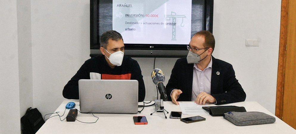 Blanch y Escriche presentan en Soneja los presupuestos de la GV