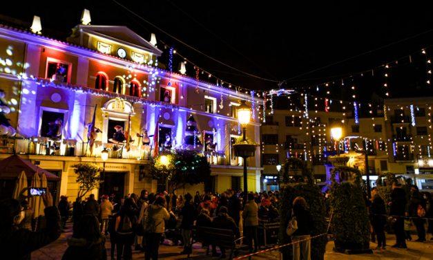 Segorbe recibe la Navidad con el encendido de luces