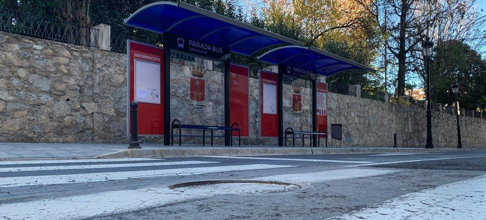 Segorbe renueva y moderniza las marquesinas de espera de autobuses