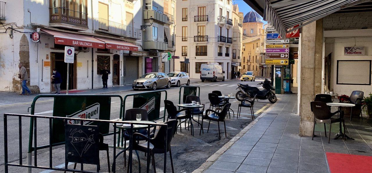 Segorbe suspende el cobro de la tasa de terrazas