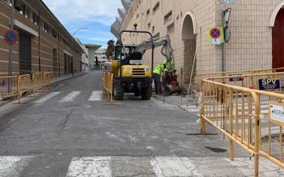Segorbe mejora la accesibilidad de las calles del polideportivo