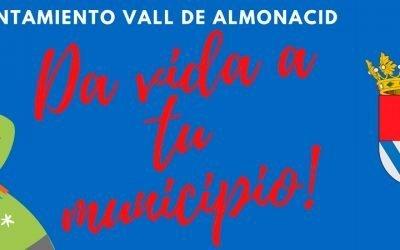 Vall de Almonacid regala vales de compra a los empadronados