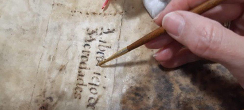 La Catedral recupera un dibujo restaurado del siglo XVII