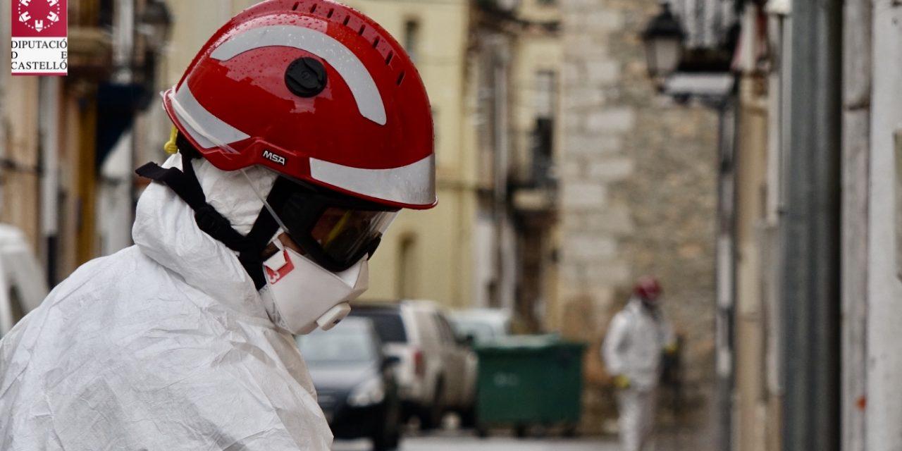 Los bomberos realizaron más de 600 desinfecciones Covid en 2020