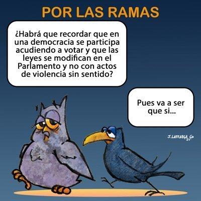 «Por las Ramas» por Jorge Laffarga