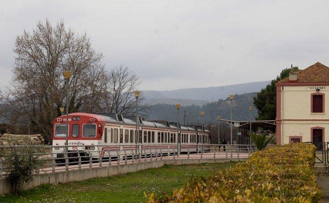 Una joven de 22 años es arrollada por el tren en la estación de Segorbe