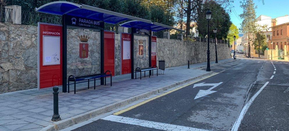 Turismo invirtió el pasado año unos 8.000 € en renovar las marquesinas de autobuses