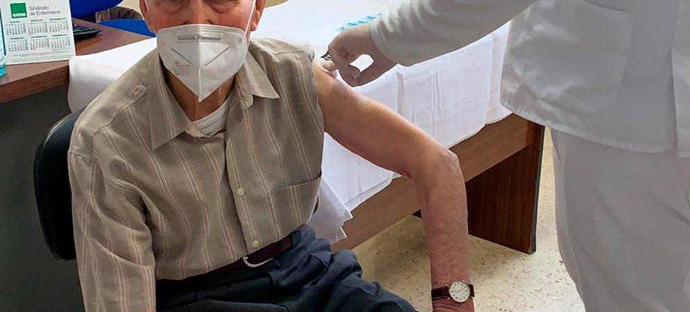 La vacuna para los mayores de 90 años ha llegado hoy a Segorbe