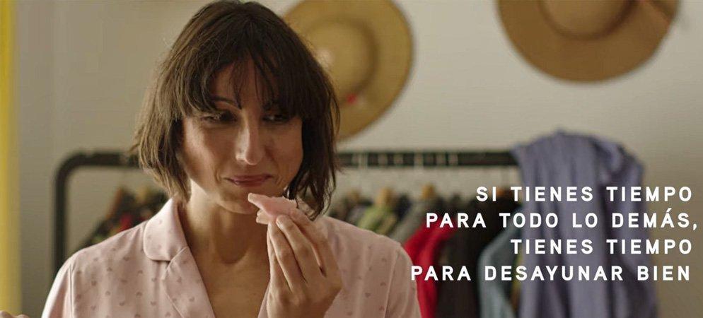 La segorbina actriz Almudena Ardit nos sorprende hoy con un anuncio de Campofrío