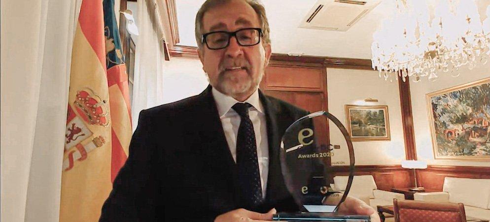 Premio a la apuesta de modernización tecnológica municipal de Diputación