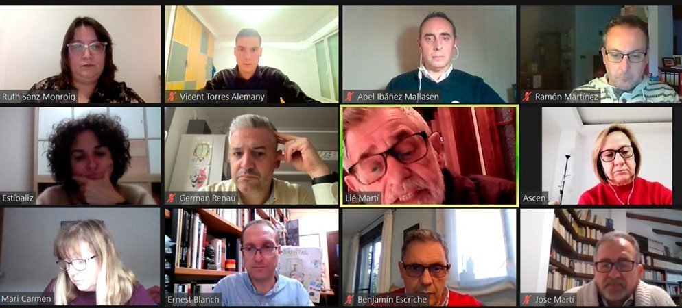 La ejecutiva provincial socialista se reúne con los concejales de Algimia