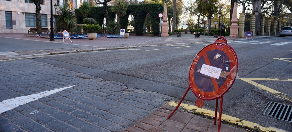 Cortes de tráfico intermitentes debido a la grabación de una película en Segorbe