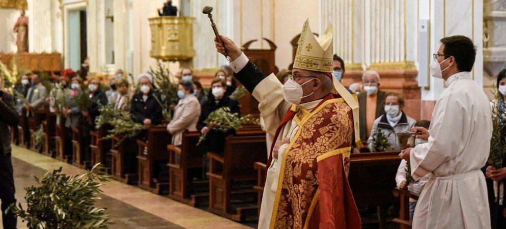 Por segundo año consecutivo el Domingo de Ramos se adapta a la pandemia