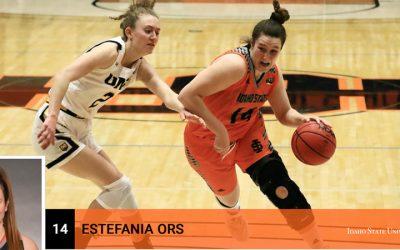La alturana Estefanía Ors una mujer que triunfa en el basket americano