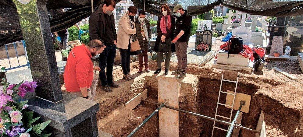 Localizan restos de  5 de las 15 víctimas exhumadas en Segorbe