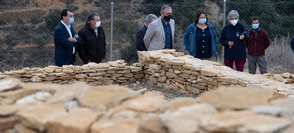 Excavaciones arqueológicas en el yacimiento de Benafer
