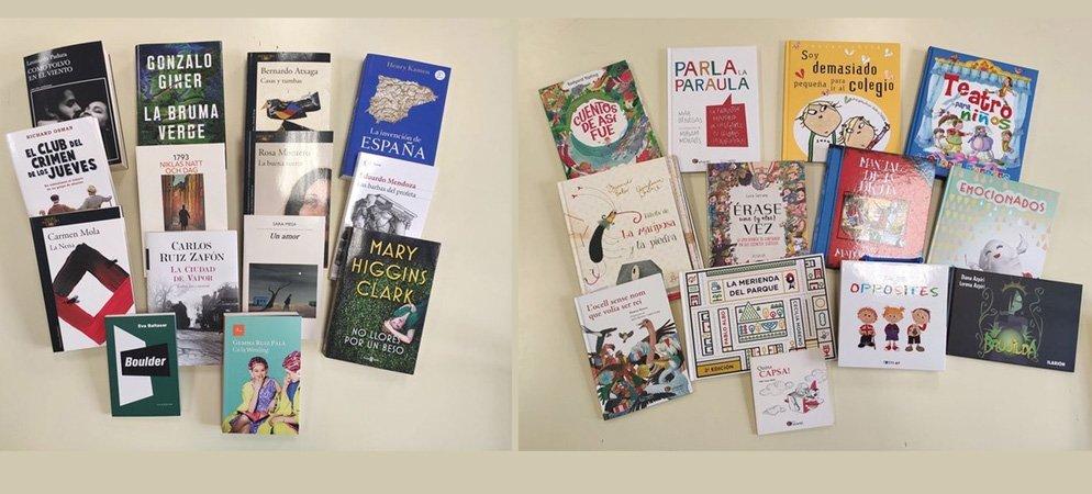 Adquieren nuevos libros para la Biblioteca Municipal de Segorbe
