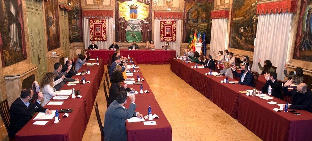 El pleno de Diputación aprueba un paquete de medidas por valor de 16 m de €