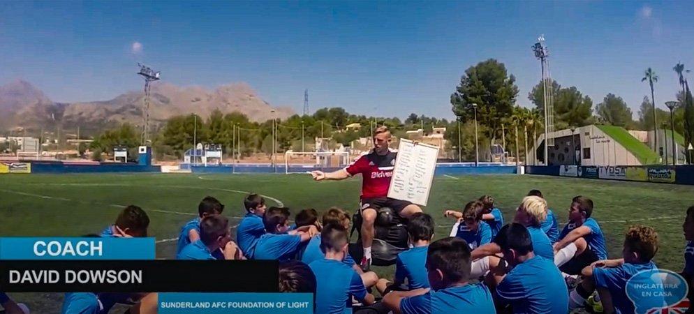 Inglaterra en Casa organiza un campamento de fútbol en Segorbe