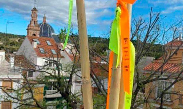 350 cañas son colocadas en «Balcones por la Esperanza» de Navajas