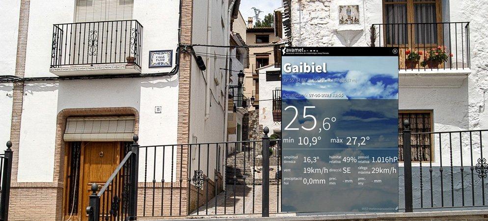 Avamet coloca una estación meteorológica en Gaibiel