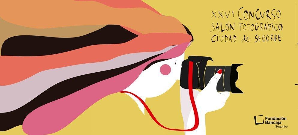 Meluca diseña el cartel del Concurso Fotográfico de Bancaja