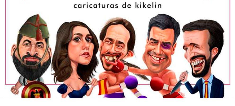 Altura organiza una exposición de caricaturas de Kikelin