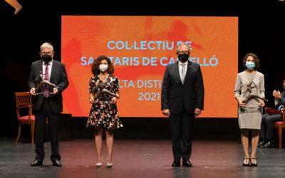 Gloria Rabanaque recibe la Alta Distinción al colectivo sanitario otorgado por Diputación