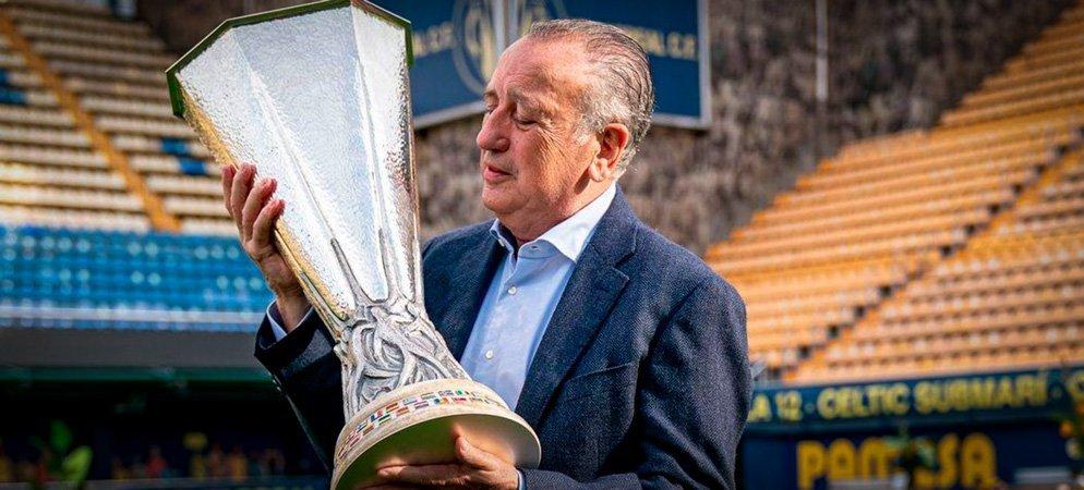 La Copa Europa League ganada por el Villareal CF visitará Segorbe