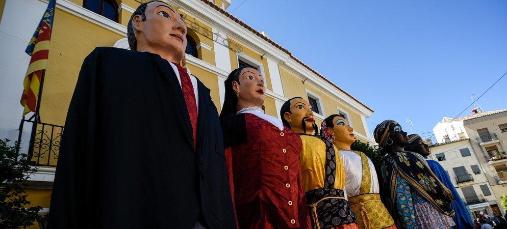 Exposición de Gigantes para el Corpus de Segorbe