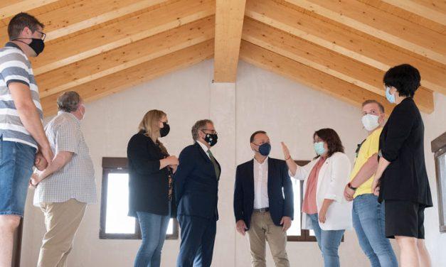 Diputación invierte 160.000€ en restaurar la Casa del Latonero de la Cueva Santa