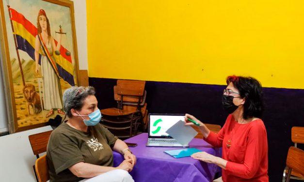 Mateo y Saavedra mantienen una reunión de trabajo
