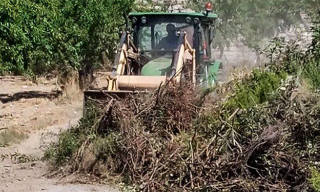 Altura limpia la pista de Cucalón a Gaetano