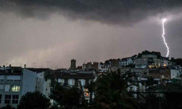 Vuelven las tormentas a la comarca