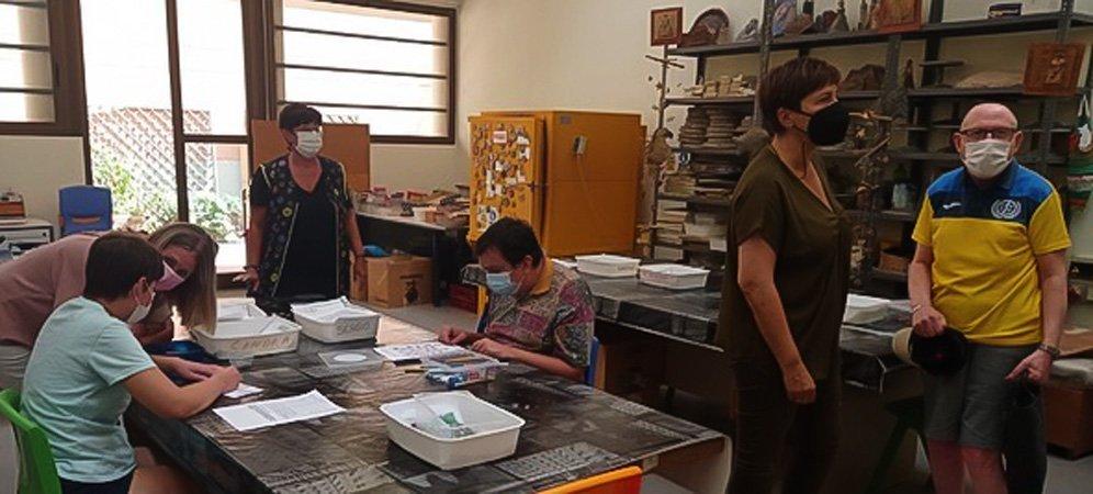 Los alumnos del Centro Ocupacional inician el curso
