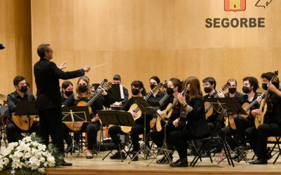 Excelente actuación en Segorbe de la Orquesta de Guitarras de Ciudad Real