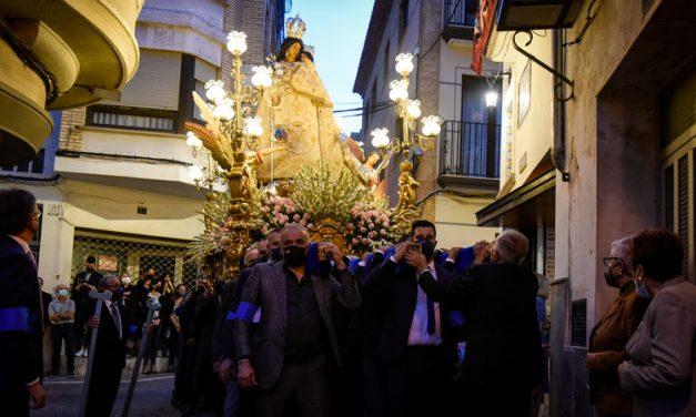 La Virgen de Gracia y San Miguel salieron en procesión en Altura